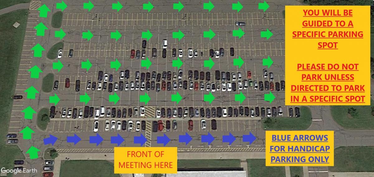 Annual Town Meeting Parking Map