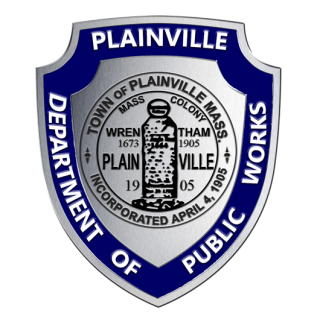 Image of Plainville Department of Public Works Shield