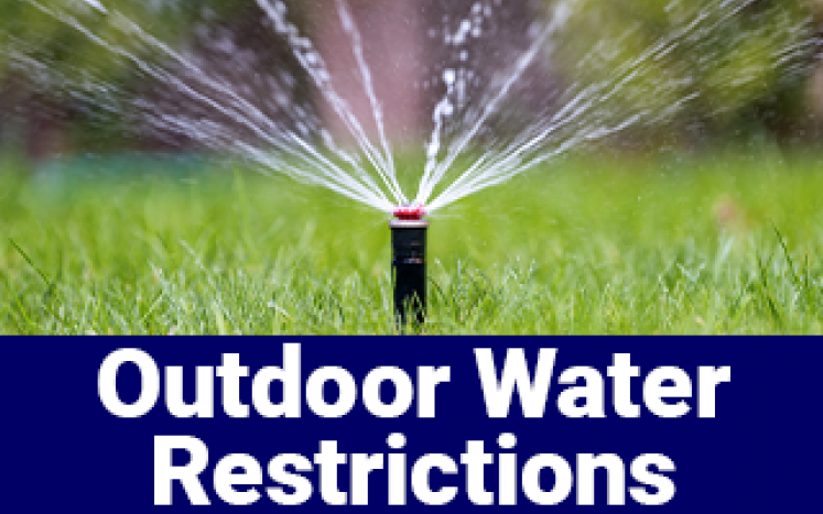 Outdoor water restrictions
