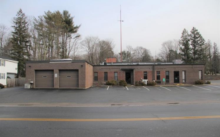 picture of old public safety red brick buidling